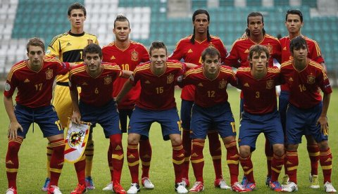 Spanien U21 Saul Asensio Bellerin Suarez Williams
